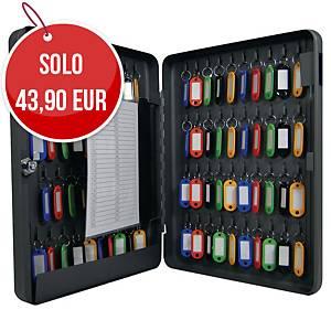 Cassetta portachiavi Pavo 80 posti con serratura in acciaio