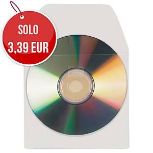 Buste adesive per cd - conf. 10