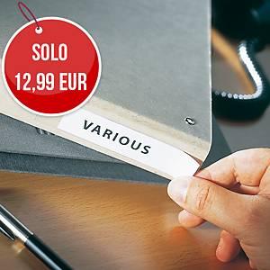 Portaetichettte adesivi l 150 x h 55 mm - conf. 20