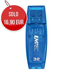 MEMORIA USB 2.0 C410 COLOR MIX EMTEC 32GB BLU