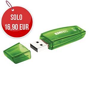 Memoria USB Emtec Color Mix C410 64 GB 2.0 colori assortiti