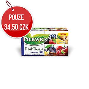 Ovocný čaj Pickwick Variace se švestkou, 20 porcí à 2 g