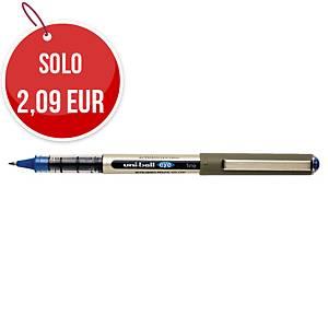 Penna roller con cappuccio uni-ball Eye punta 0,7 mm blu