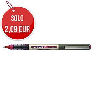 Penna roller con cappuccio uni-ball Eye punta 0,7 mm rosso