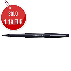 Pennarello PaperMate Nylon Flair punta media 1,1 mm nero