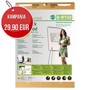 Bi-Office Earth-it luentotaululehtiö Eko 63,5 x 76,2cm, 1 kpl=2 nidettä