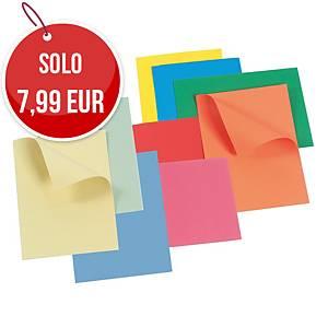 Cartelletta semplice Arca cartoncino manilla 300 g/mq verde - conf. 25
