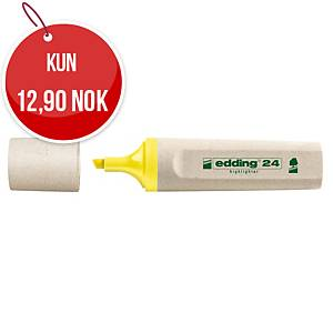 Overstrykningspenn Edding 24 Ecoline gul
