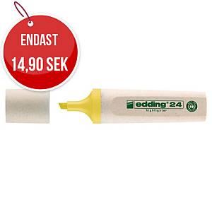 Överstrykningspenna Edding 24 Ecoline gul