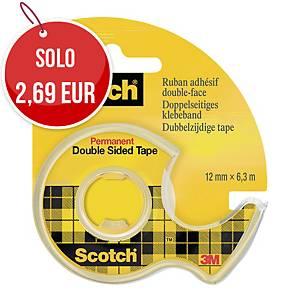 Nastro biadesivo trasparente Scotch® 665 in dispenser L 6,3 m x 12 mm