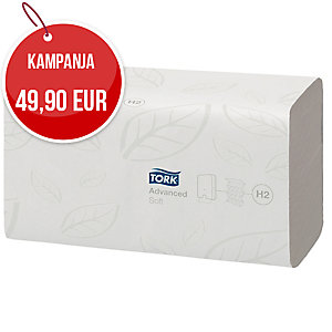 Tork Advanced Xpress Soft Multifold käsipyyhe 34x21cm valkoinen, me 1kpl = 21pkt