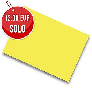 Pack de 25 cartulinas de  50x65 185g/m2  IRIS de color amarillo