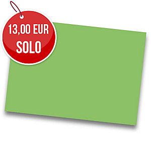 Pack de 25 cartulinas de  50x65 185g/m2  IRIS de color verde