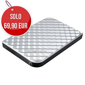 Disco rigido portatile Verbatim 1 TB USB 3.0 silver