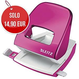 Perforatore a 2 fori Leitz Wow 5008 rosa fino a 25 fogli