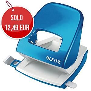 Perforatore a 2 fori Leitz Wow 5008 azzurro fino a 25 fogli