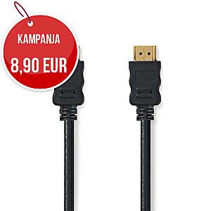 HDMI A-A uros-uros kaapeli 2m
