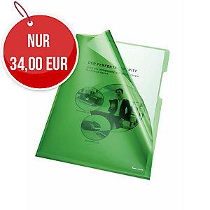 Bene Sichthüllen PP A4 150 Mikron grün