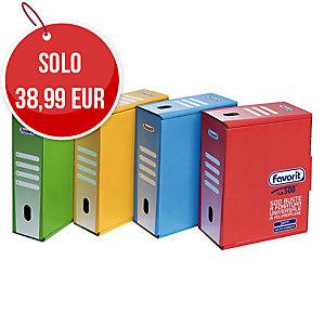 BUSTE A PERFORAZIONE UNIVERSALE LA500 FAVORIT SUPERIOR LUCIDE - CONF. 500