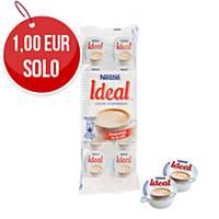 Pack de 10 monodosis de leche evaporada Nestlé Ideal
