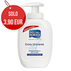 Sapone liquido mani Extra Idratante Neutro Roberts 300 ml