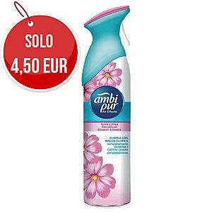 Deodorante per ambiente Ambipur eliminaodori fiori delicati 300 ml