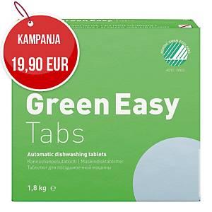 Kiilto MD2 Green Easy Tabs konetiskitabletti, 1 kpl=100 tablettia