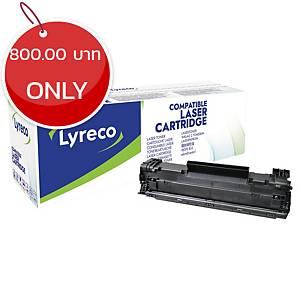 LYRECO COMPATIBLE 85A HP CE285A PRINT CARTRIDGE BLACK