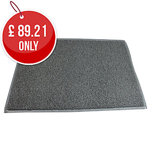 Floortex Twistermat Floor Mat 900 X 1500mm Grey