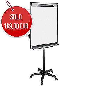 Lavagna a fogli mobili Bi-Office Design Mobile con ruote 70 x 100 cm