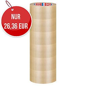 Tesa PVC Packband, transparent, 50 mm x 66 m, 49 Mic, 6 Stk/Packung