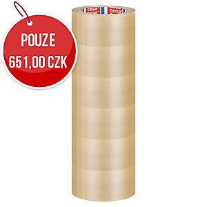Balicí páska tesapack® EXTRA STRONG, 50 mm x 66 m, průsvitná, 6 kusů