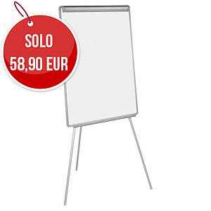 Lavagna a fogli mobili magnetica Bi-Office Easy 70 x 102 cm