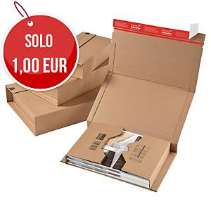 Scatola postale fustellata cartone ColomPac 302 x 215 x 80 mm - conf. 20