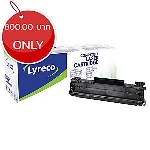 LYRECO COMPATIBLE HP LASER CARTRIDGE CE278A - BLACK