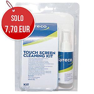Kit completo Lyreco per la pulizia touch screen