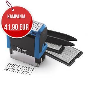 Trodat Typo Printy 4912 tekstileimasinsetti itseladottava