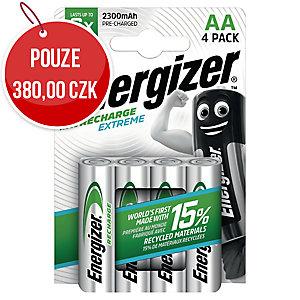 Dobíjecí baterie Energizer Extreme, HR6/AA, 2300mAh, 4 kusy