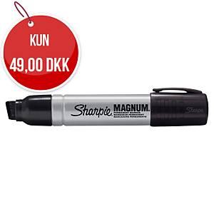 Permanent marker Sharpie, industriel, metal, magnum, skrå, sort
