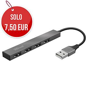 Hub Trust Vecco 4 porte USB 2.0