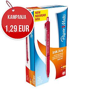 Papermate Inkjoy 300RT kuulakärkikynä mekanismilla 0,3 mm punainen