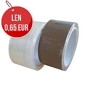 Baliaca PP páska, 48 mm x 66 m, transparentná