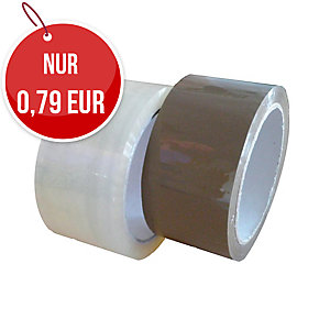 Packband, 48 mm x 60 m, 48 µm, transparent