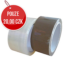 Balicí páska, 48 mm x 60 m, 48 µm, hnědá