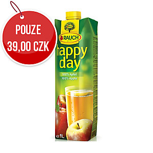 Džus Happy Day Jablko 100%, 1 l