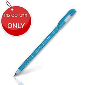 QUANTUM SKATE 111 BALLPOINT PEN 0.5MM BLUE - PACK OF 50