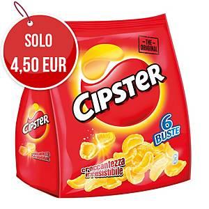 Patatine Cipster Saiwa in sacchetto da 22 g - conf. 6