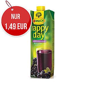 Happy Day 100 % Fruchtsaft Schwarze Johannisbeere 1 l