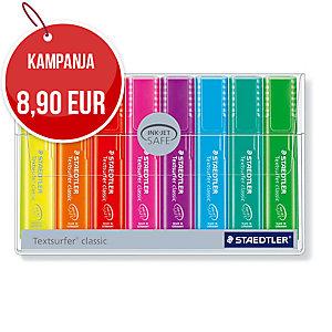 Staedtler Textsurfer Rainbow korostuskynä viisto 1-5mm , värilaj. me 1kpl=8kynää