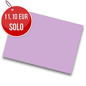 Pack de 25 cartulinas IRIS de  50x65 185g/m2 cm color lila